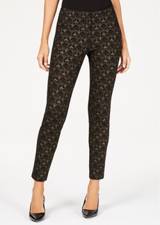 Alfani Petite Slash Pocket Ponte Trouser, Created for Macy's