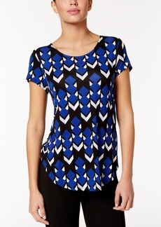 Alfani Geo-Print T-Shirt, Only at Macy's