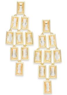 Alfani Geometric Stone Chandelier Earrings, Created for Macy's
