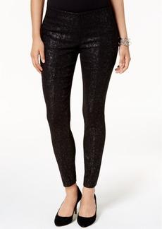 Alfani Glitter Skinny Pants, Created for Macy's