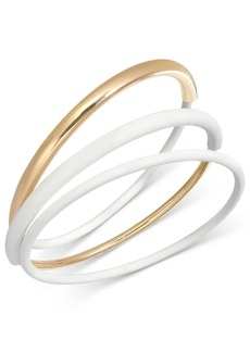 Alfani Gold-Tone 3-Pc Set Bangle Bracelets, Created for Macy's