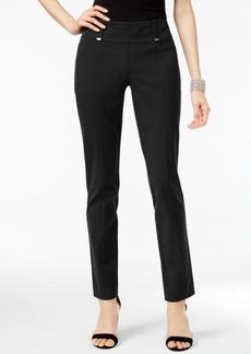 Alfani Hardware-Detail Slim Pants, Created for Macy's