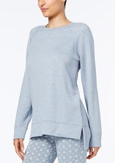 Alfani Heathered Pajama Tunic, Created for Macy's