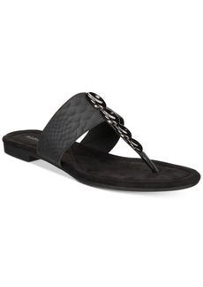 Alfani Henii Flat Sandals, Created for Macy's Women's Shoes