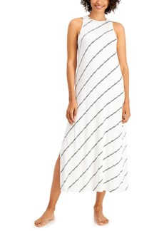 Alfani High-Neck Long Nightgown, Created for Macy's