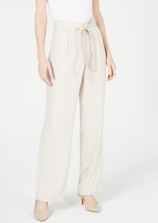 Alfani High-Waist Wide-Leg Pants, Created for Macy's