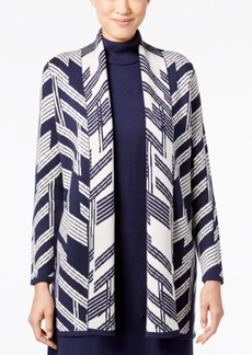 Alfani Intarsia Duster Cardigan, Only at Macy's