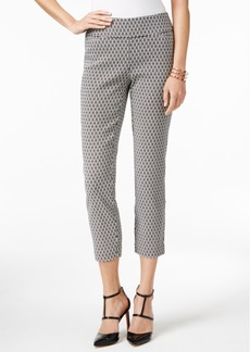 Alfani Jacquard Capri Pants, Only at Macy's