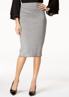 Alfani Jacquard Midi Sweater Skirt, Created for Macy's