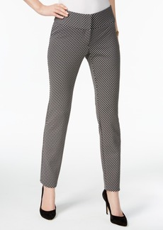 Alfani Jacquard Straight-Leg Pants, Created for Macy's
