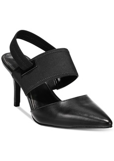 Alfani Jolum Pointed-Toe Slingback Pumps, Only at Macy's Women's Shoes