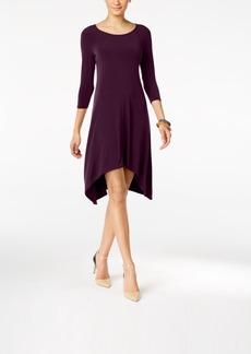 Alfani Knit Handkerchief-Hem Dress, Created for Macy's