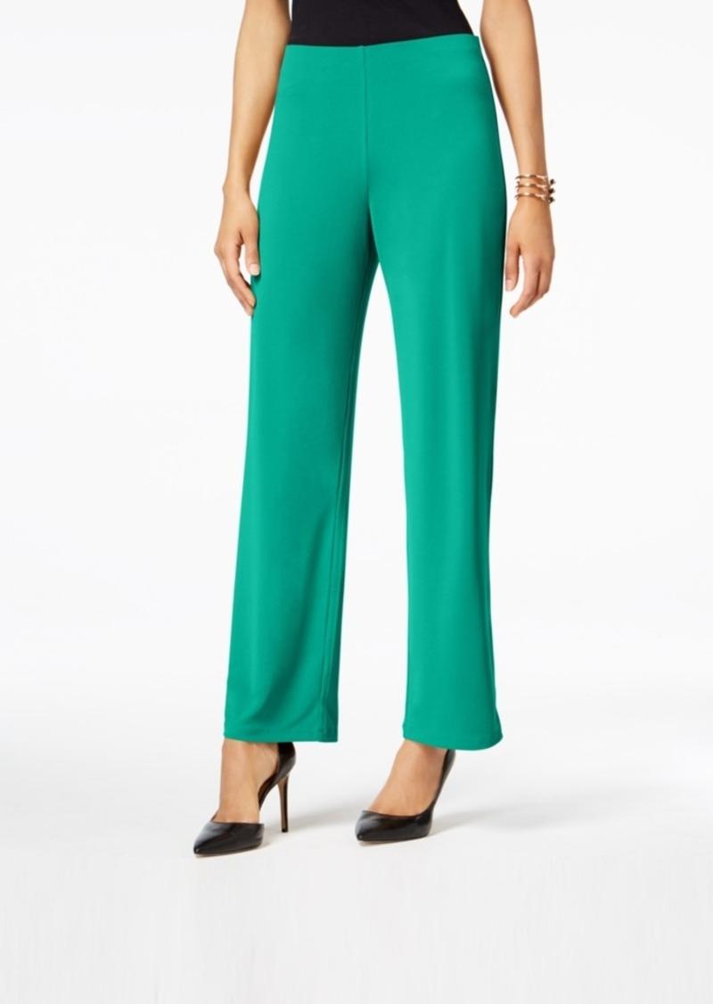 Alfani Knit Wide-Leg Pant, Created for Macy's