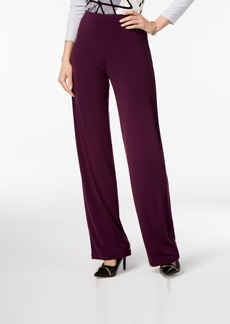 Alfani Knit Wide-Leg Trousers, Created for Macy's