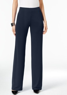 Alfani Knit Wide-Leg Trousers, Only at Macy's