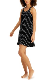 Alfani Knot-Back Chemise Nightgown, Created for Macy's