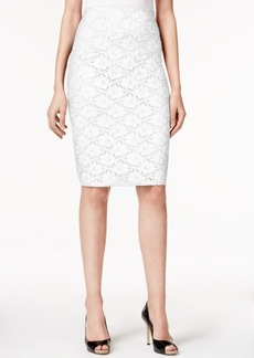 Alfani Lace Pencil Skirt, Only at Macy's