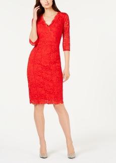 Alfani Lace Sheath Dress, Created for Macy's