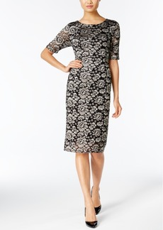 Alfani Lace Sheath Dress, Only at Macy's