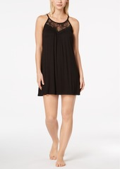 Alfani Lace-Trimmed Scoop-Neck Chemise, Created for Macy's