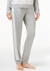 Alfani Lace Jacquard-Trimmed Pajama Pants, Created for Macy's