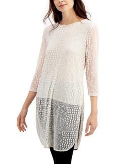 Alfani Layered-Look Tunic Top, Created for Macy's