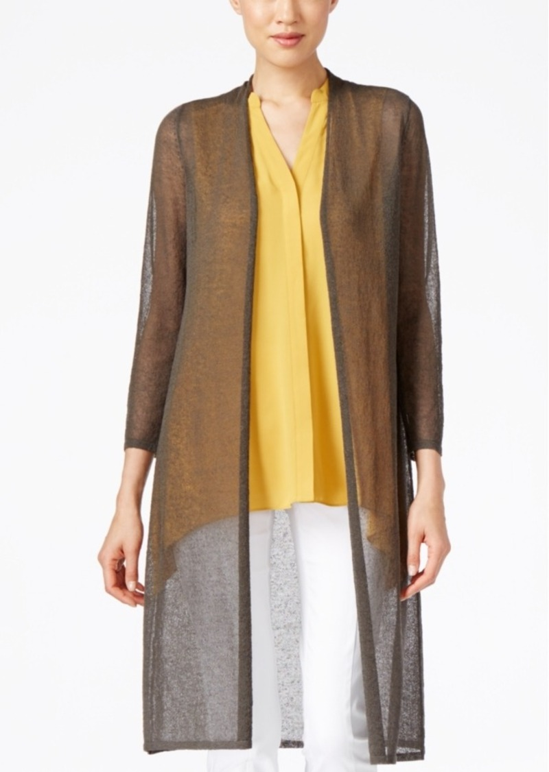 Alfani Alfani Lightweight Open-Front Duster Cardigan, Only at ...