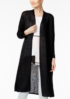 Alfani Linen Duster Cardigan, Only at Macy's
