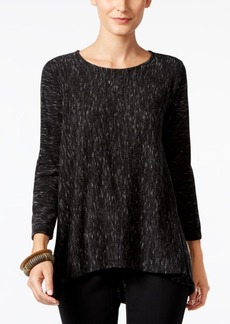 Alfani Marled High-Low Sweater, Only at Macy's