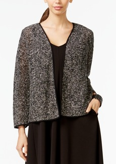 Alfani Marled Open-Front Cardigan, Only at Macy's