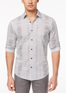 Alfani Men's Abstract Geo-Print Shirt, Created for Macy's