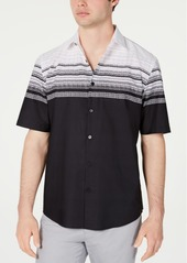 Alfani Men's Abstract Stripe-Print Shirt, Created for Macy's