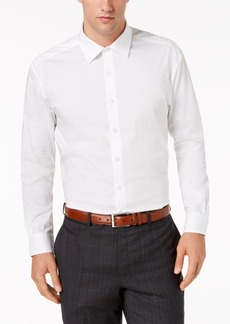 AlfaTech by Alfani Men's Big & Tall Solid Dress Shirt, Created for Macy's