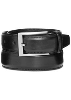 Alfani Men's Big & Tall Feather-Edge Dress Belt, Created for Macy's