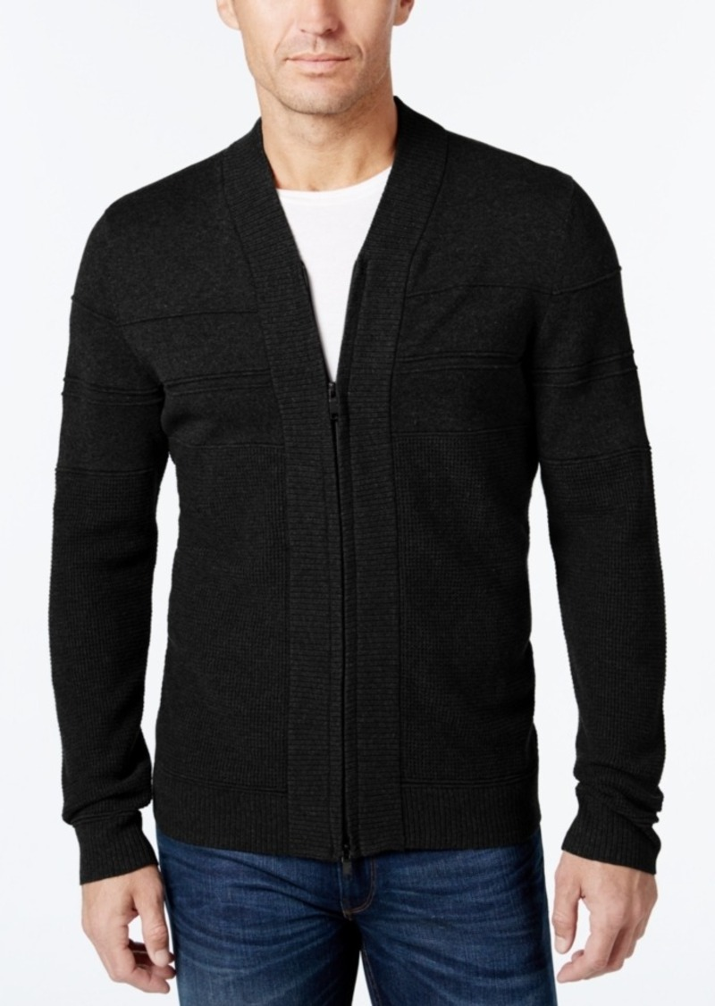 Alfani Alfani Men's Big and Tall Full-Zip Shawl Collar Cardigan ...