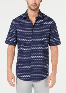 Alfani Men's Box Stripe Shirt, Created for Macy's
