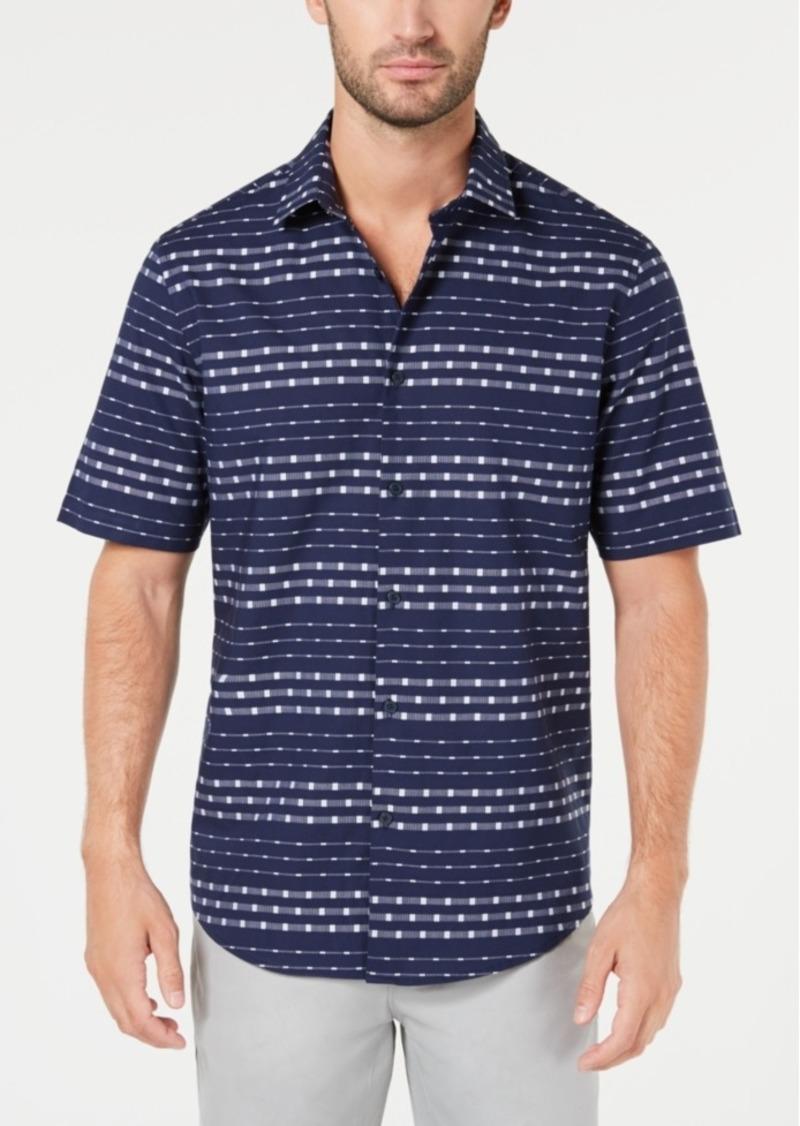 Alfani Men's Box Stripe Shirt, Created for Macy's