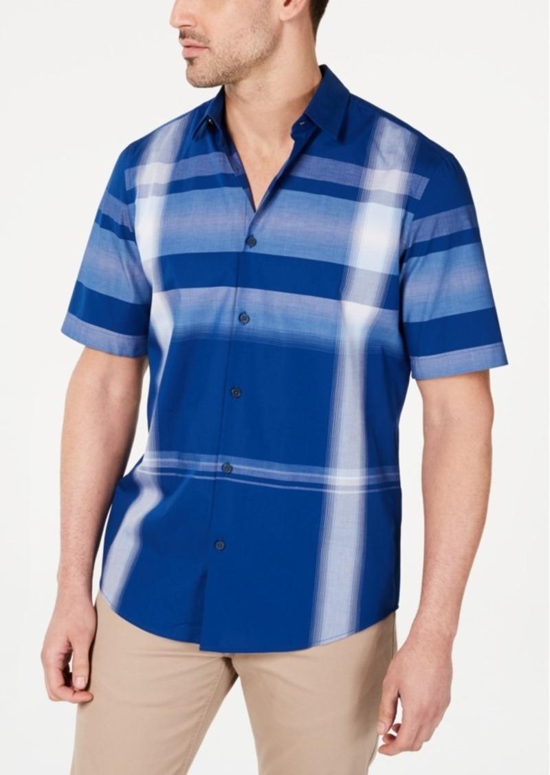 Alfani Men's Brandon Plaid Shirt, Created for Macy's