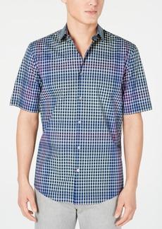 Alfani Men's Bright Spot Plaid Shirt, Created for Macy's
