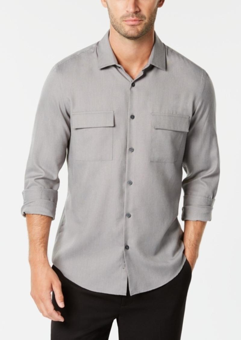 Alfani Men's Brushed Utility Shirt, Created for Macy's
