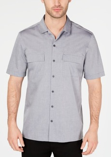 Alfani Men's Camp Collar Shirt, Created for Macy's