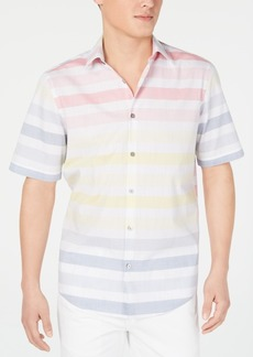 Alfani Men's Carnival Striped Shirt, Created for Macy's