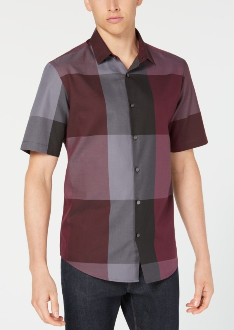 Alfani Men's Check Shirt, Created for Macy's