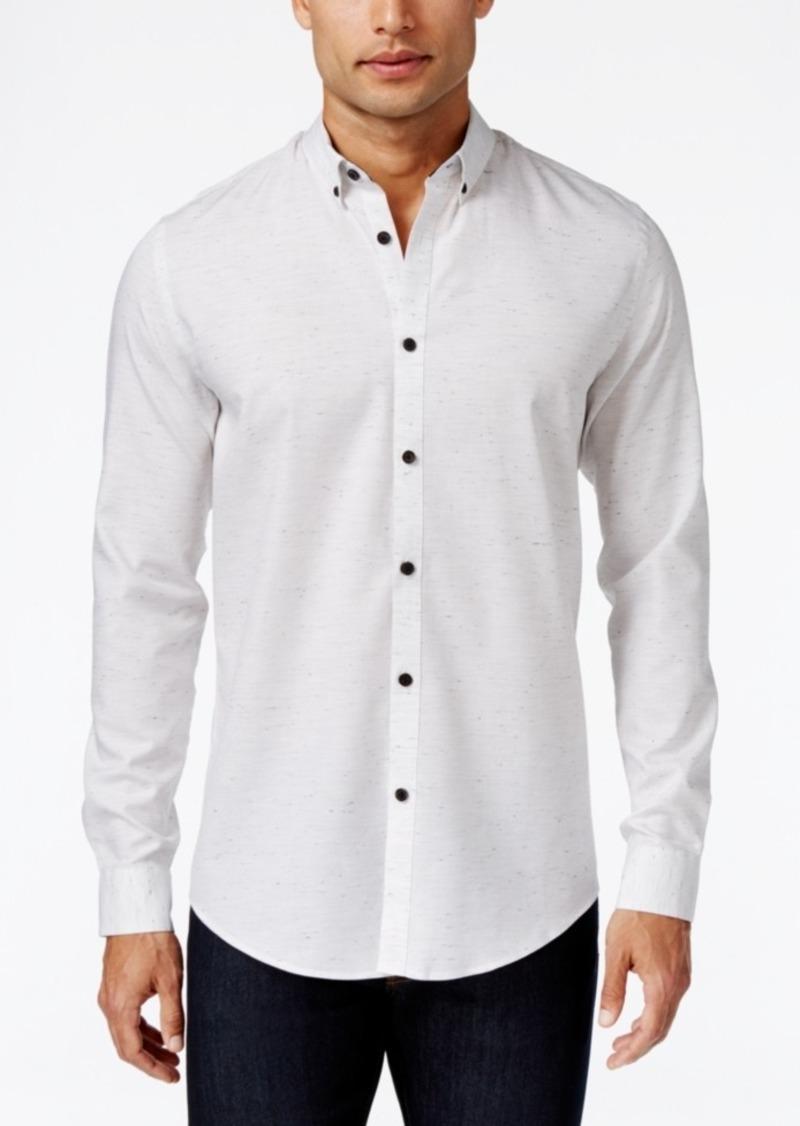 Alfani Men's Classic Fit Long-Sleeve Shirt, Created for Macy's