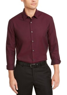 Alfani Men's Classic-Fit Solid Shirt, Created for Macy's