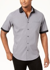 Alfani Men's Contrast Collar Shirt, Created for Macy's