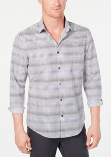 Alfani Men's Cross Hatch Shirt, Created for Macy's