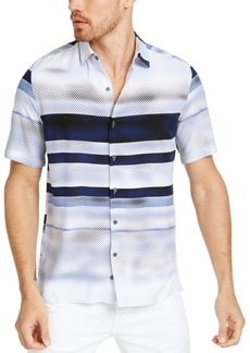 Alfani Men's Delfano Stripe Shirt, Created for Macy's