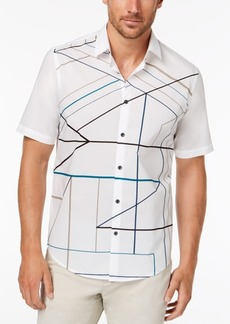 Alfani Men's Disco-Print Shirt, Created for Macy's