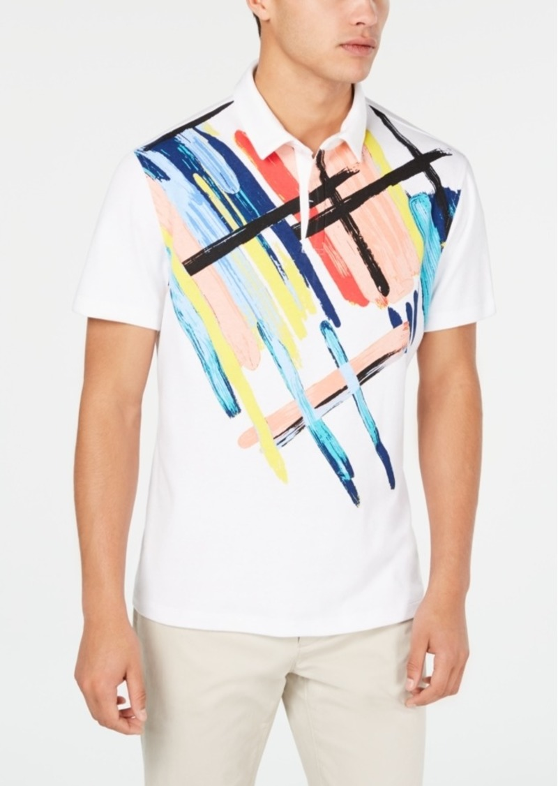 Alfani Men's Expression Printed Polo, Created for Macy's